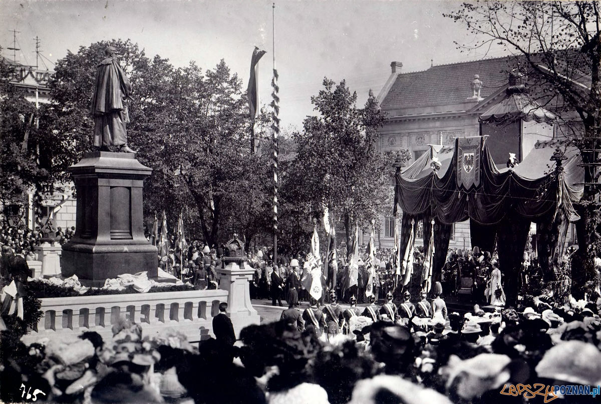 Wizyta cesarza Wilhelma II w Poznaniu  Foto: