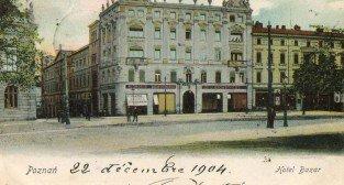 Hotel Bazar w 1904 roku
