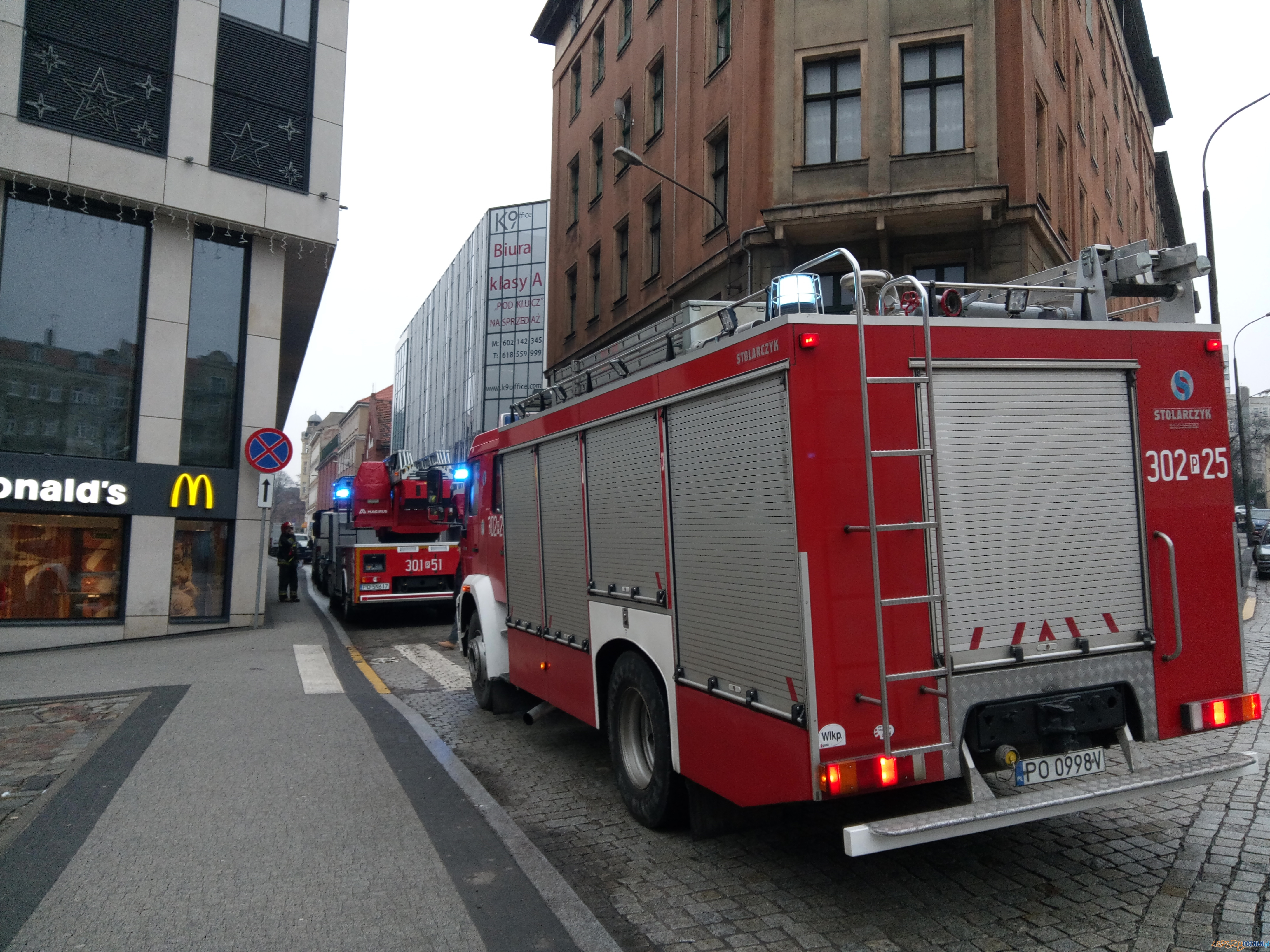 Strażacy gotowi do akcji