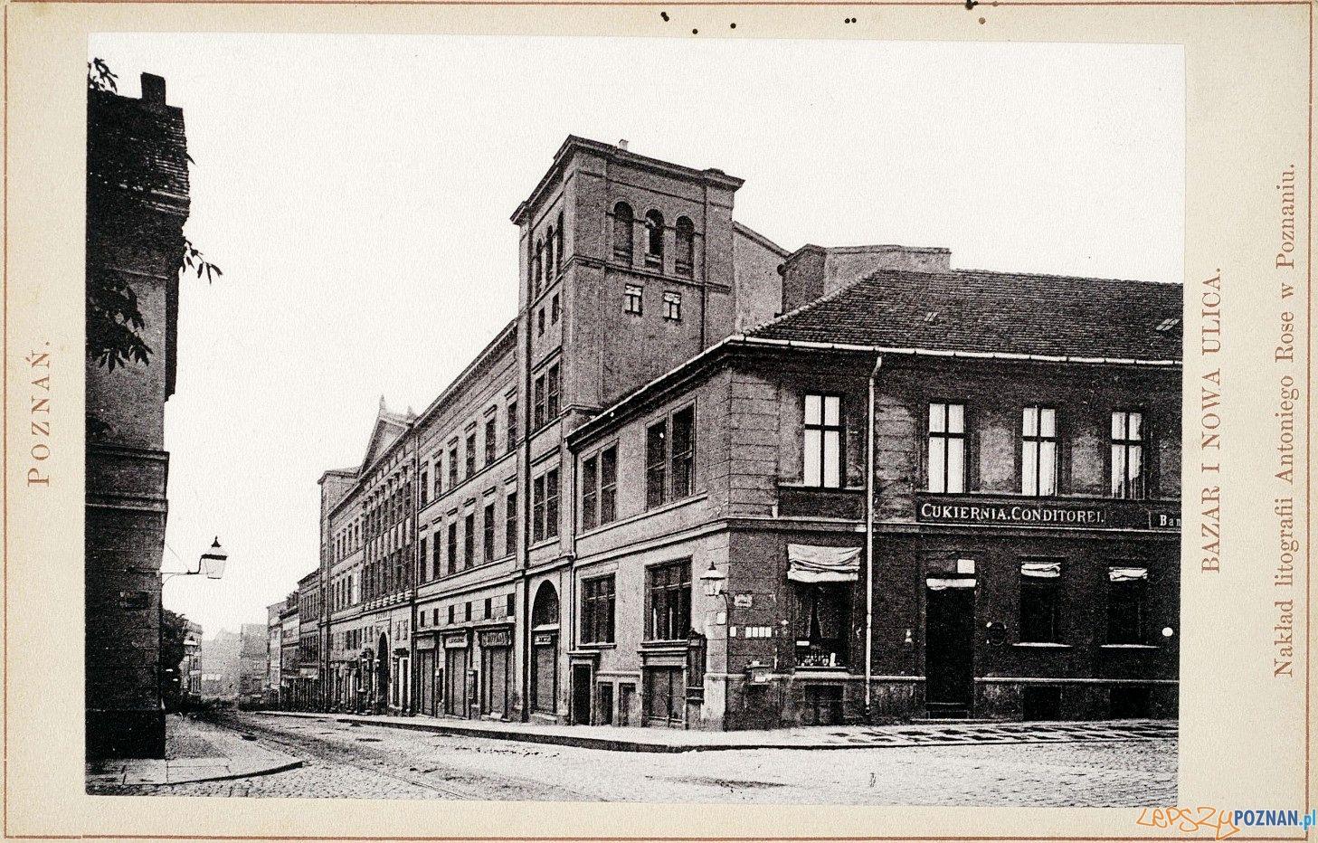 Hotel Bazar w 1884 roku  Foto: Biblioteka Uniwersytecka