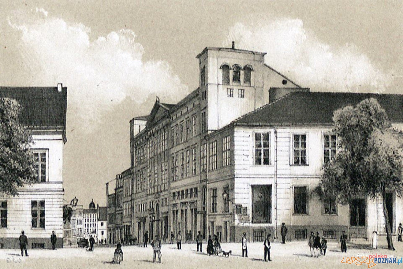 Bazar w roku 1871  Foto: Rys. R. Geissler - fotopolska