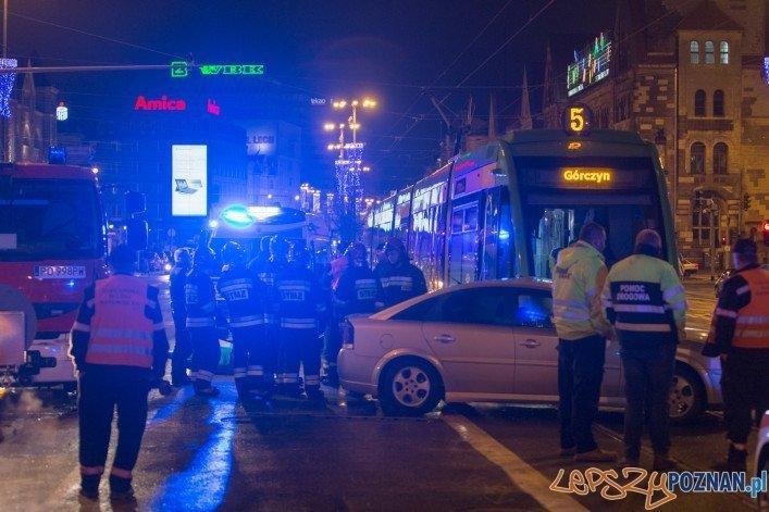 Wypadek na ulicy Święty Marcin