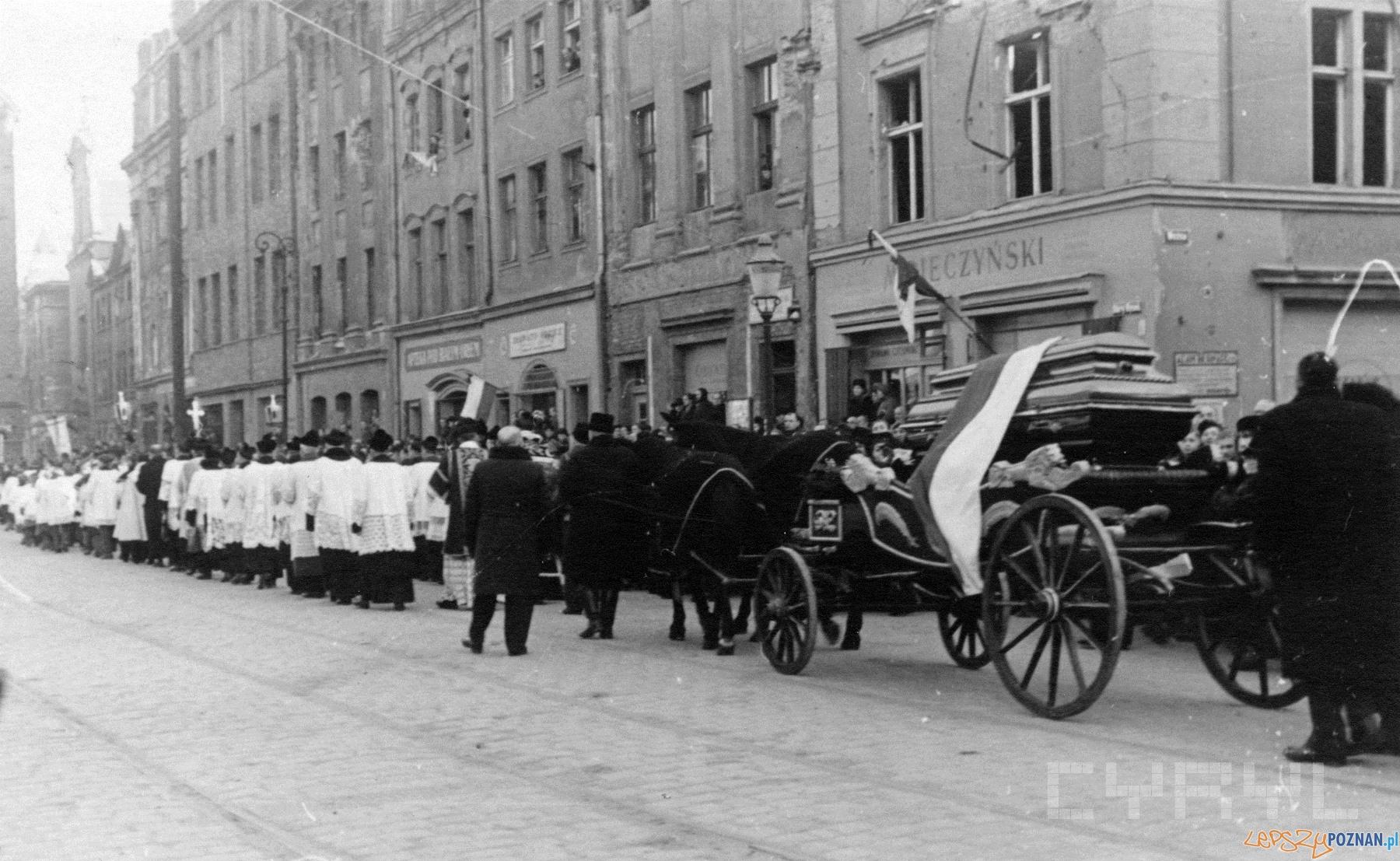 Pogrzeb Feliksa Nowowiejskiego