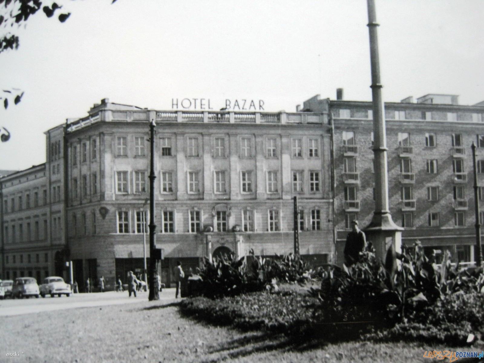 Hotel Bazar 1969 r.  Foto: fotopolska