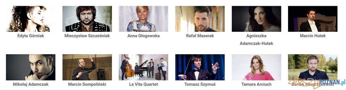Gwiazdy Poznańskiego Koncertu Noworocznego