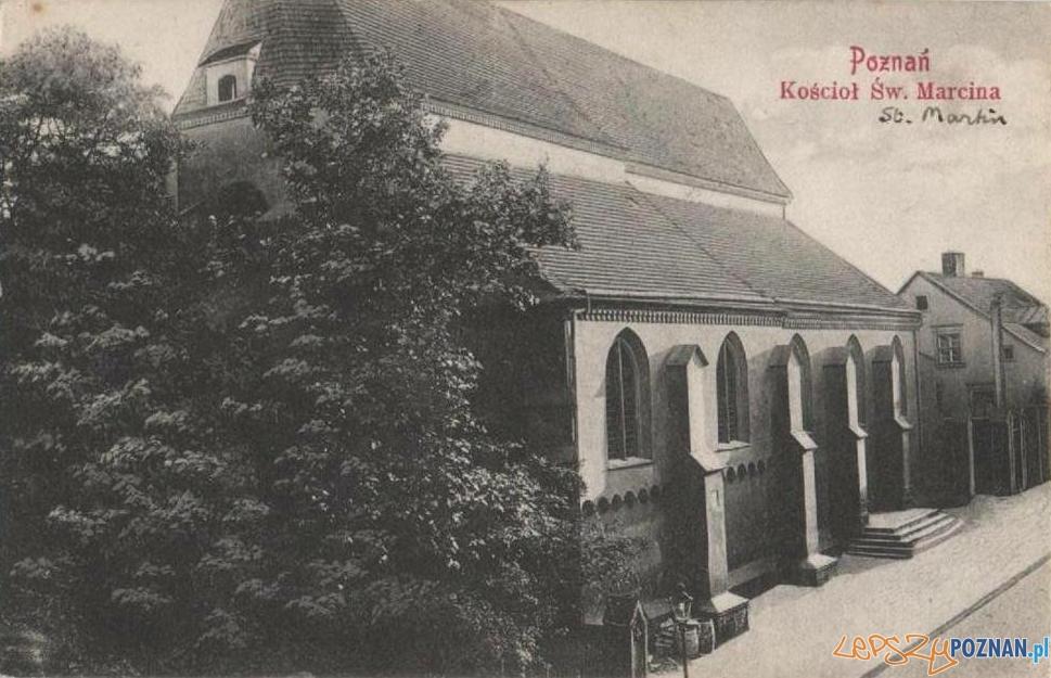 Kościół Św. Marcina. lata 20-te XX wieku
