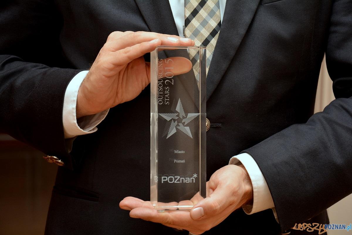 Nagroda Outsourcing Stars 2015  Foto: UMP / poznan.pl