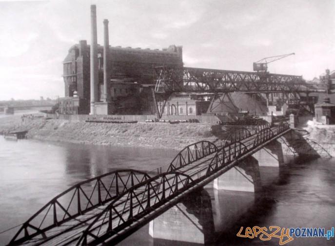 Gazownia na Grobli, lata 20. XX w.