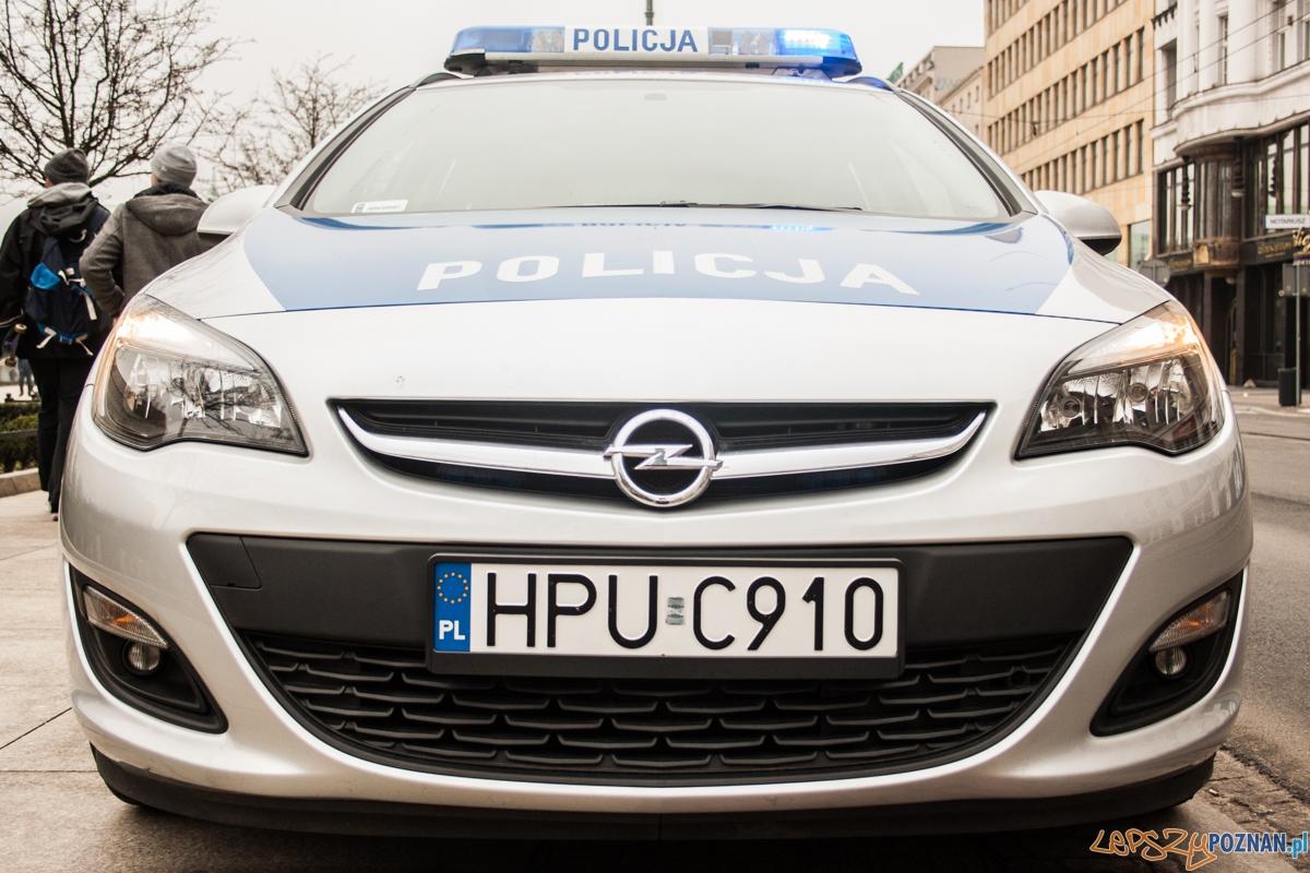 Policja / radiowóz  Foto: © lepszyPOZNAN.pl / Karolina Kiraga