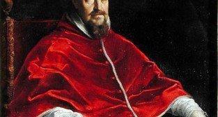 Portret papieża Grzegorza XV namalowany przez Guido Reni'ego