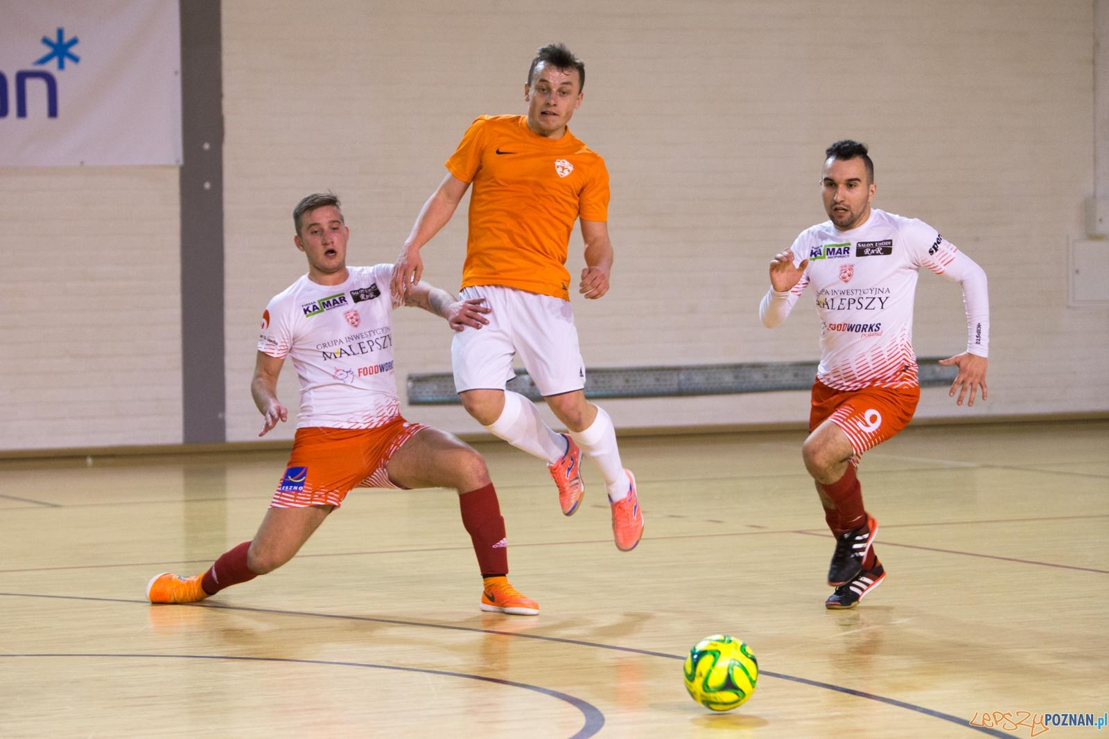 Mecz II ligi futsalu: M40.pl Poznań - Futsal Leszno  Foto: lepszyPOZNAN.pl / Piotr Rychter