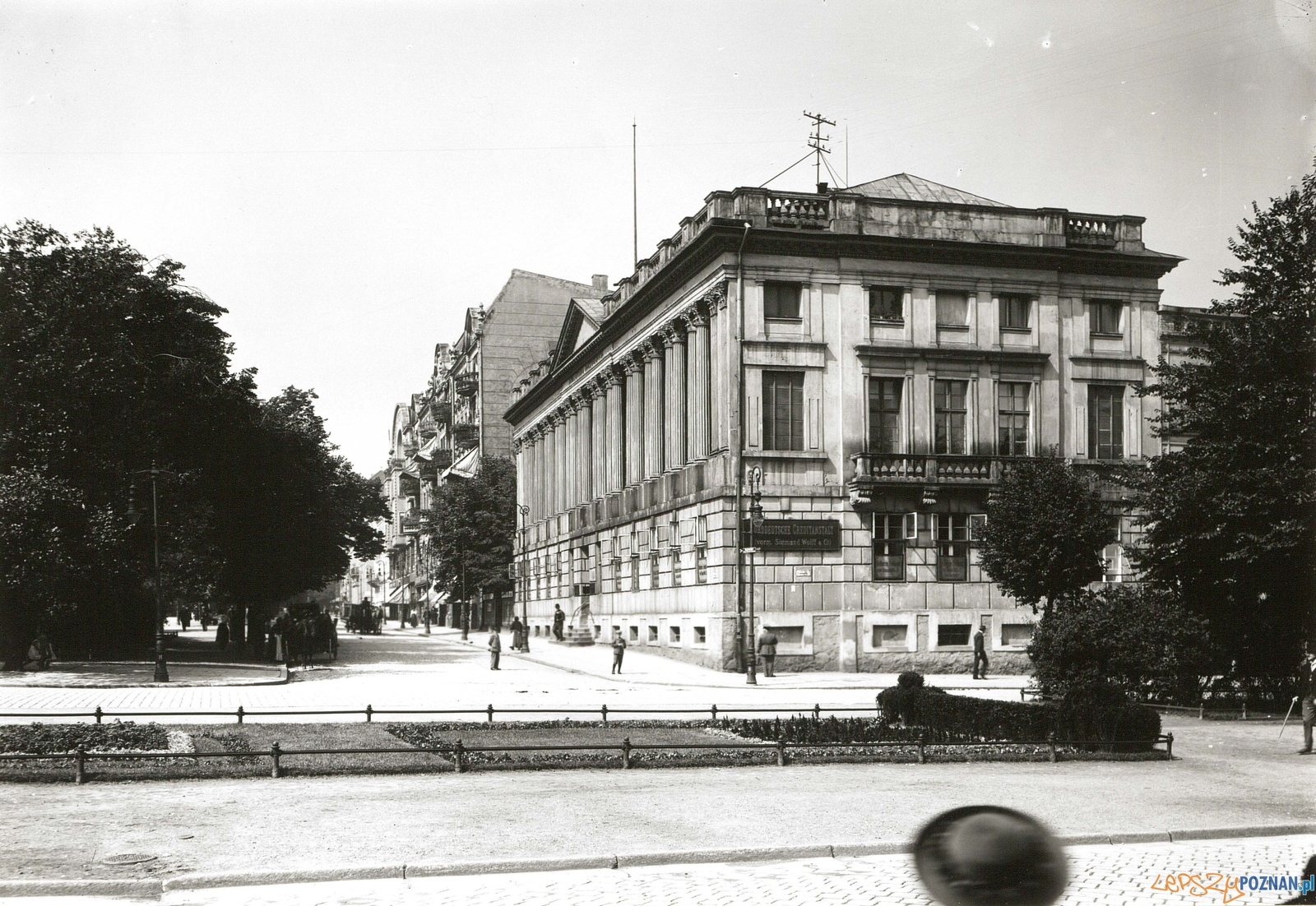 Biblioteka Raczynskich 1916  Foto: Deutsche Fotothek