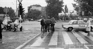 Skrzyżowanie Niepodległości i Św. Marcina - 19.06.1981