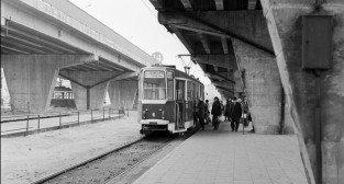 Pętla na Górczynie - 1973 r.  Foto: Stanisław Wiktor  / Cyryl