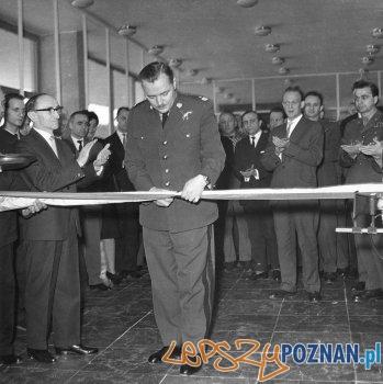 Wielopolskei Muzeum Wojskowe - otwarcie w trzeciej siedzibie - 22.02.1963