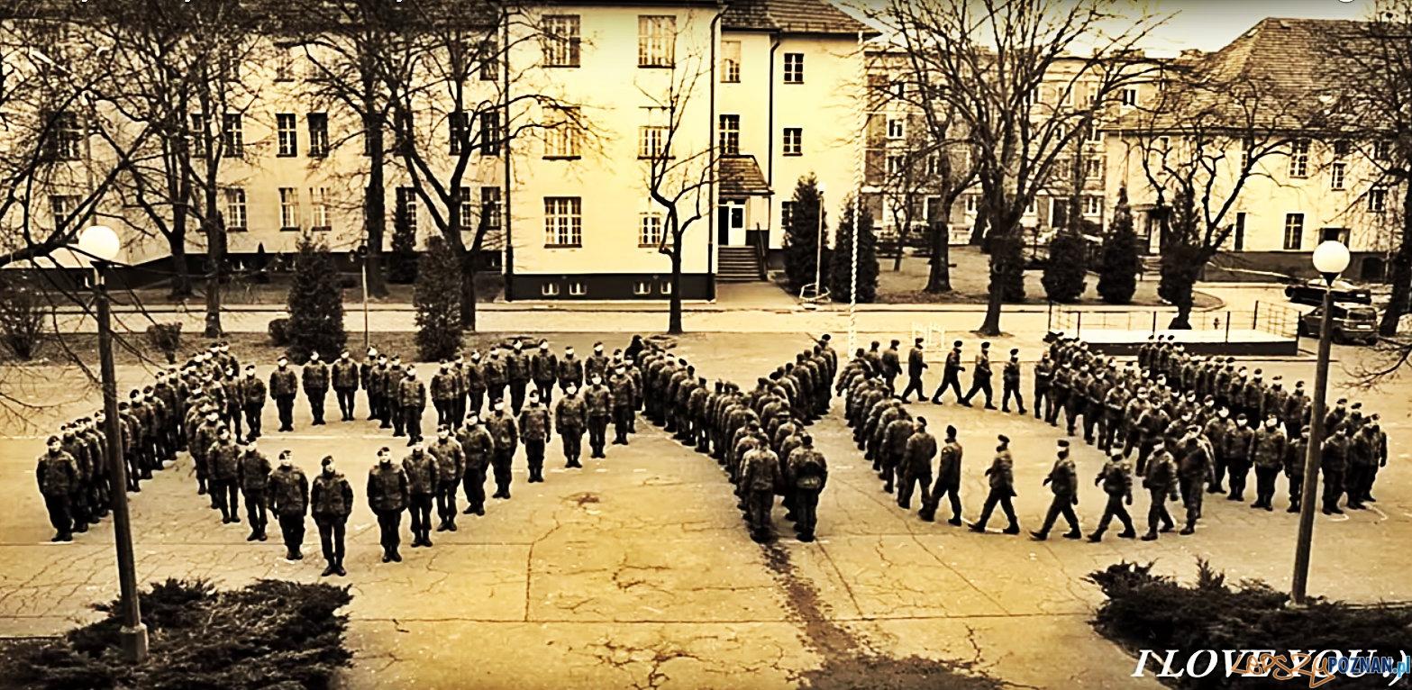 I LOVE YOU - od żołnierzy z Poznania na Walentynki