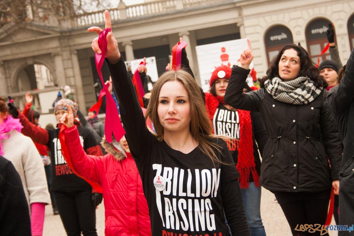 Nazywam się miliard / One billion rising (14.02.2016) Plac Woln  Foto: © lepszyPOZNAN.pl / Karolina Kiraga