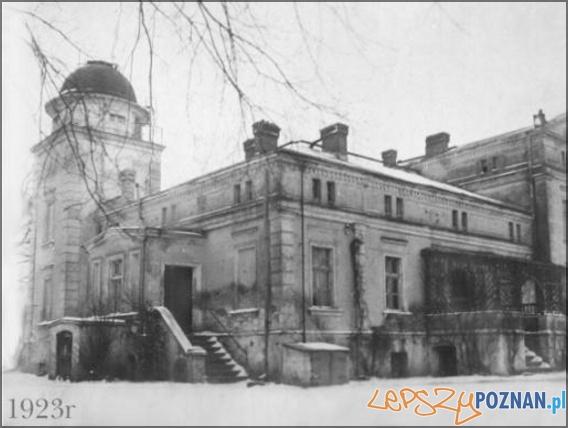 Budynek Obserwatorium Astronomicznego w 1923 roku