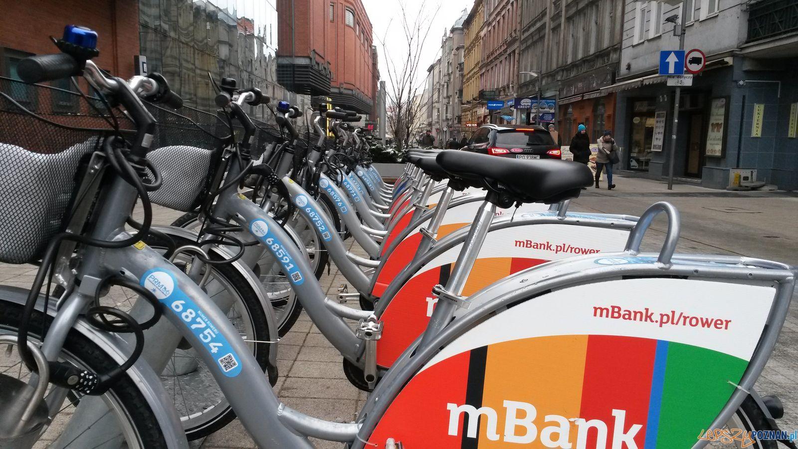Pierwsze wypożyczenie roweru miejskiego - 6:07  Foto: ZTM