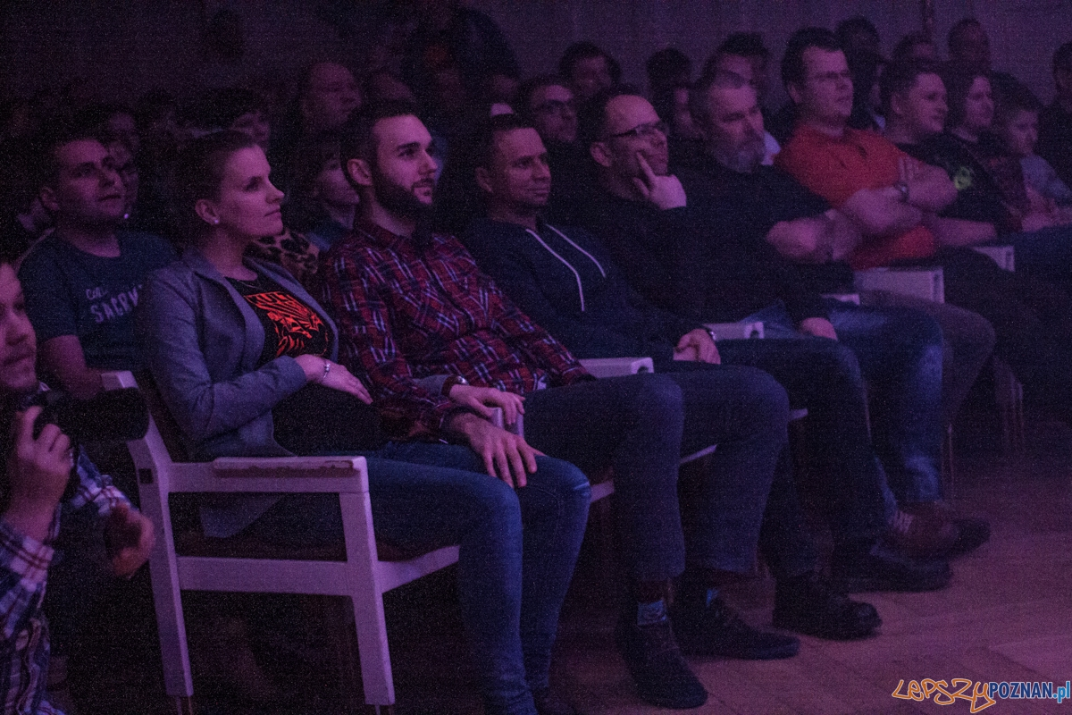Kult anplakt (13.03.2016) Aula UAM  Foto: © lepszyPOZNAN.pl / Karolina Kiraga