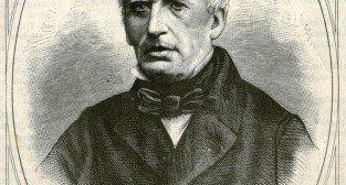 Portret Antoniego Poplińskiego według wzoru Franciszka Tegazzo. Drzeworyt opublikowany w 1868 roku w Tygodniku Ilustrowanym nr 43, s. 193.