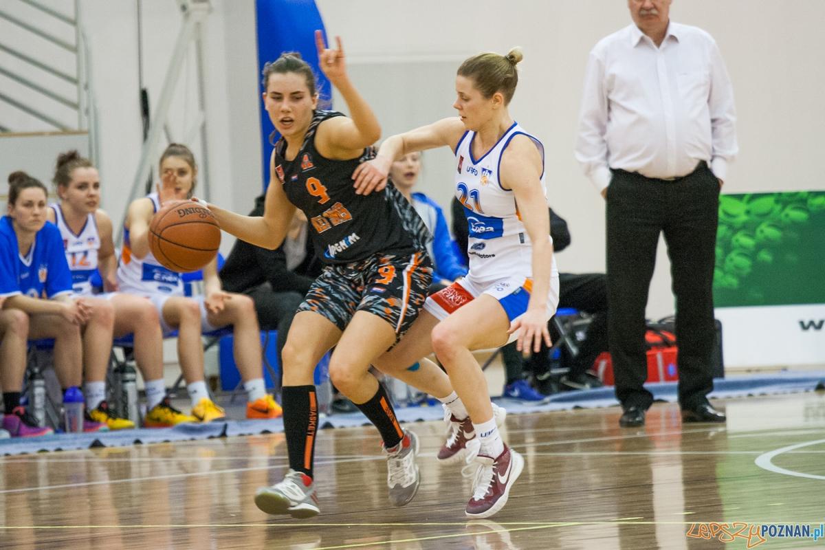Enea AZS Poznań - UKS Basket SMS Aleksandrów Łódzki  Foto: © lepszyPOZNAN.pl / Karolina Kiraga