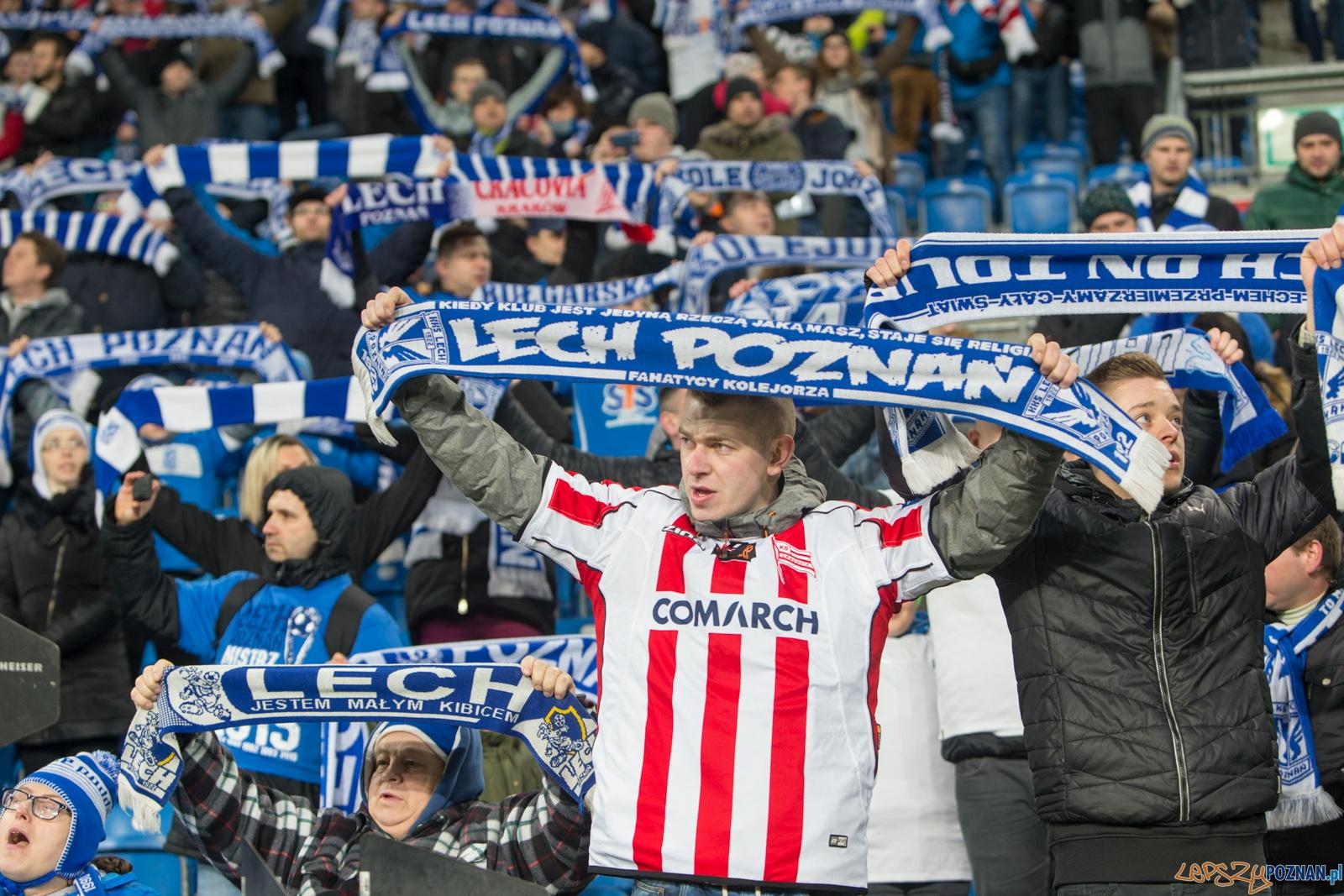 26. kolejka Ekstraklasy: Lech Poznań - Crakovia Kraków  Foto: lepszyPOZNAN.pl / Piotr Rychter