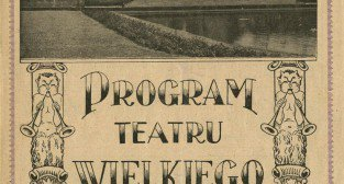 Program opery Carmen w Teatrze Wielkim sezon 1937-38