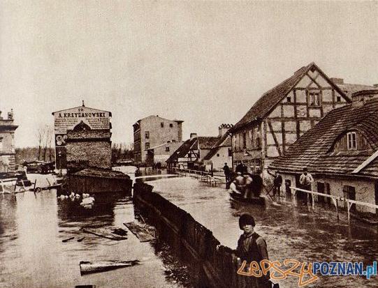 Ul._Piaskowa_-_powódź  Foto: