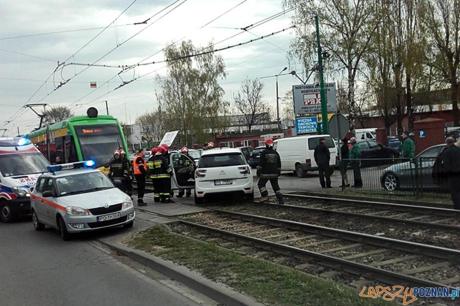 Wypadek na Starołęce  Foto: EuroHol