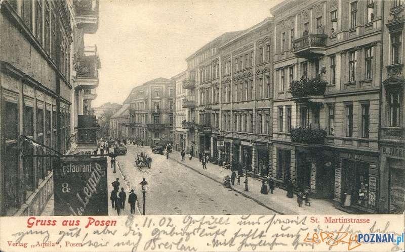 Św. Marcin z początku XX wieku  Foto: Biblioteka Uniwersytecka