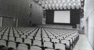 Sala kinowa w Palacu Kultury  - 1968 rok