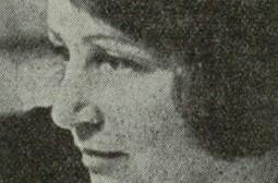 Maja Berezowska - czasy okupacji zdjecie z programu Zemsty w Teatrze Polskim 1963