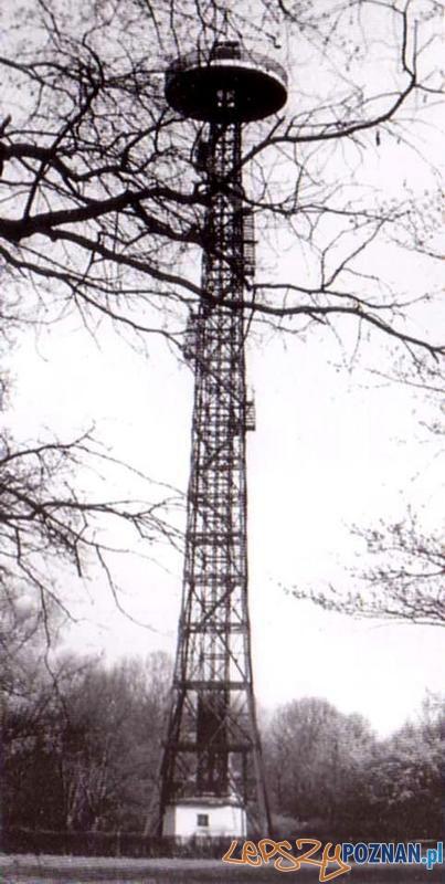 Wieża spadochronowa na Sołaczu