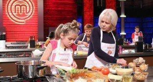 MasterChef Junior - Luiza Baaziz z babcią Łucją