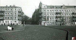 Rynek Łazarski 1950-60