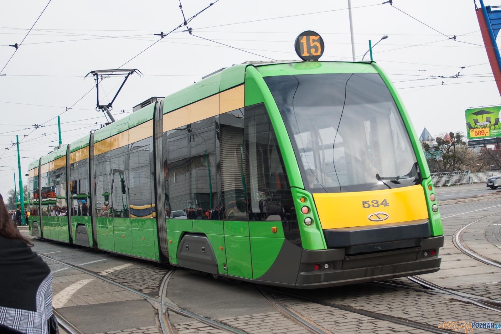 tramwaj nr 15 / bimba  Foto: © lepszyPOZNAN.pl / Karolina Kiraga