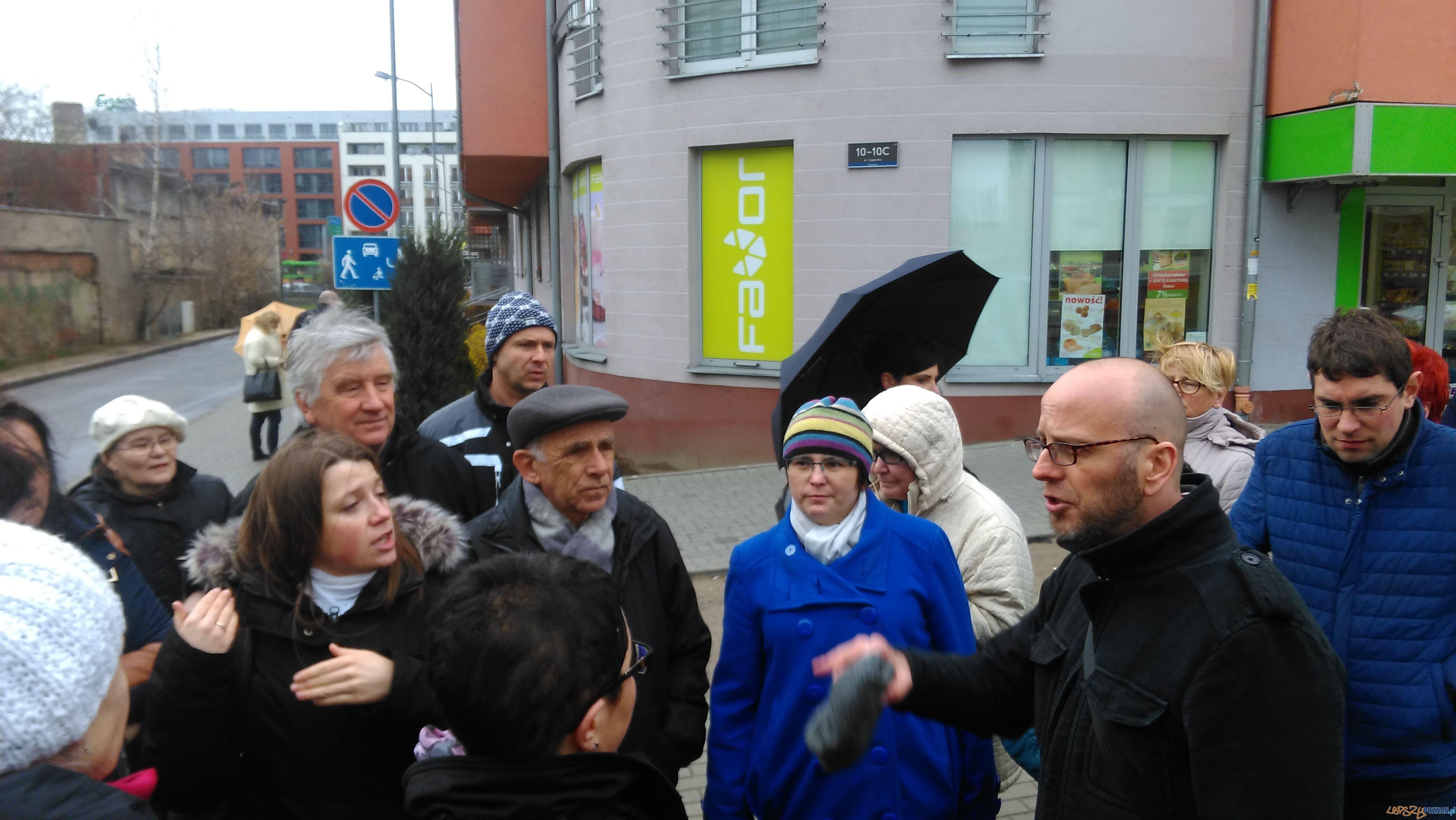 Spotkanie z mieszkancami ulicy Szyperskiej