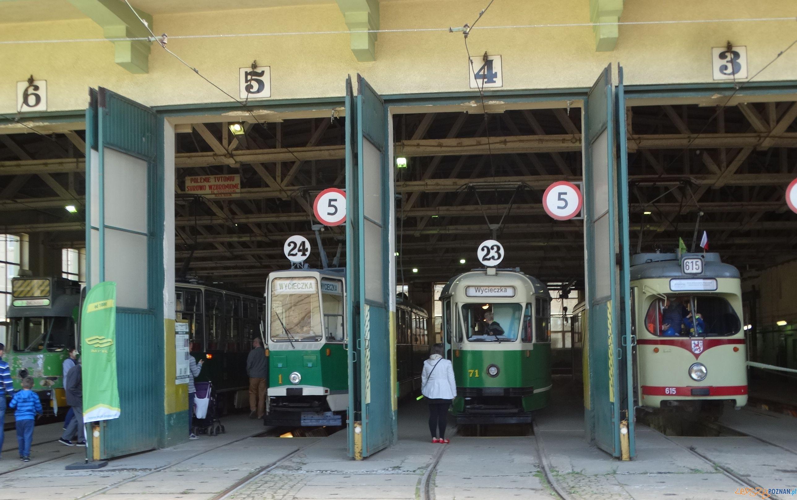 Tramwaje - zajezdnia na Madalinie  Foto: KMPS