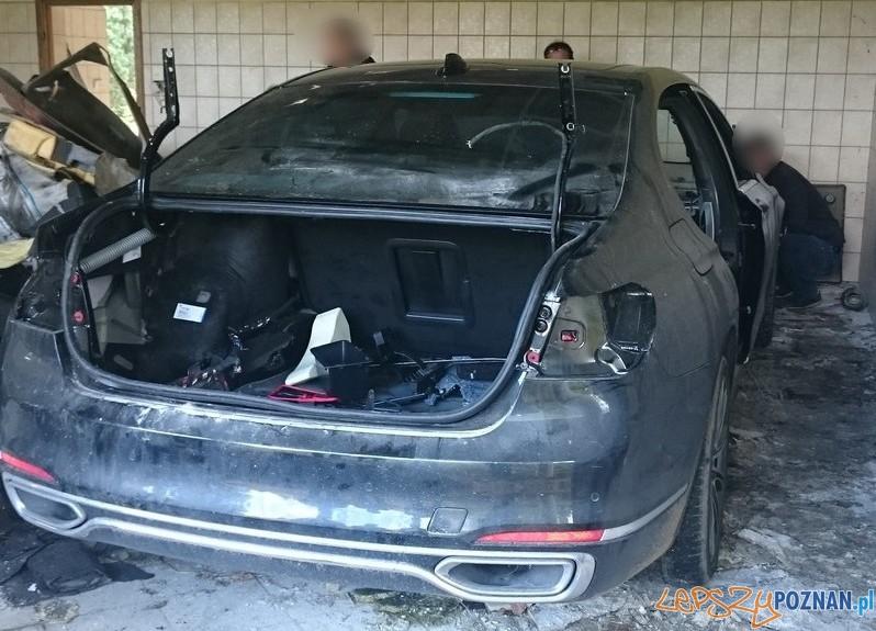 Odzyskano skradzione samochody (w częściach)