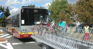 Autobusowy szlak rowerowy