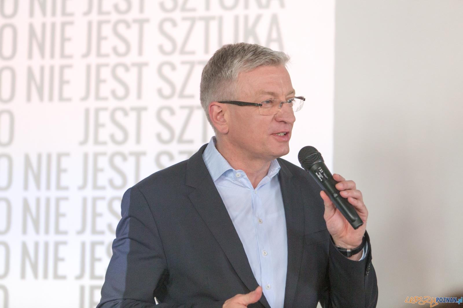 Prezydent Miasta Poznania - Jacek Jaśkowiak  Foto: lepszyPOZNAN.pl / Piotr Rychter