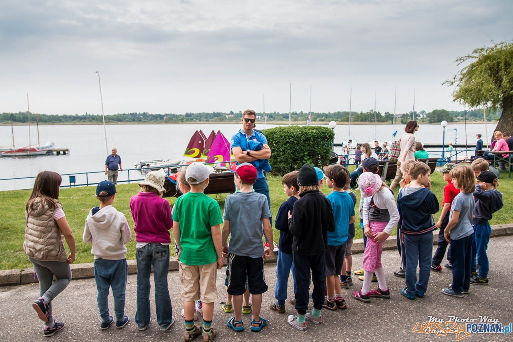 Piknik żeglarski nad jeziorem Kierskim (1)  Foto: materiały prasowe / POZŻ