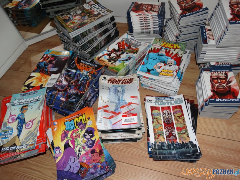 Dzień darmowego komiksu  Foto: Biblioteka UAM