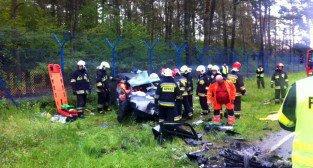 Wypadek na Głuszynie