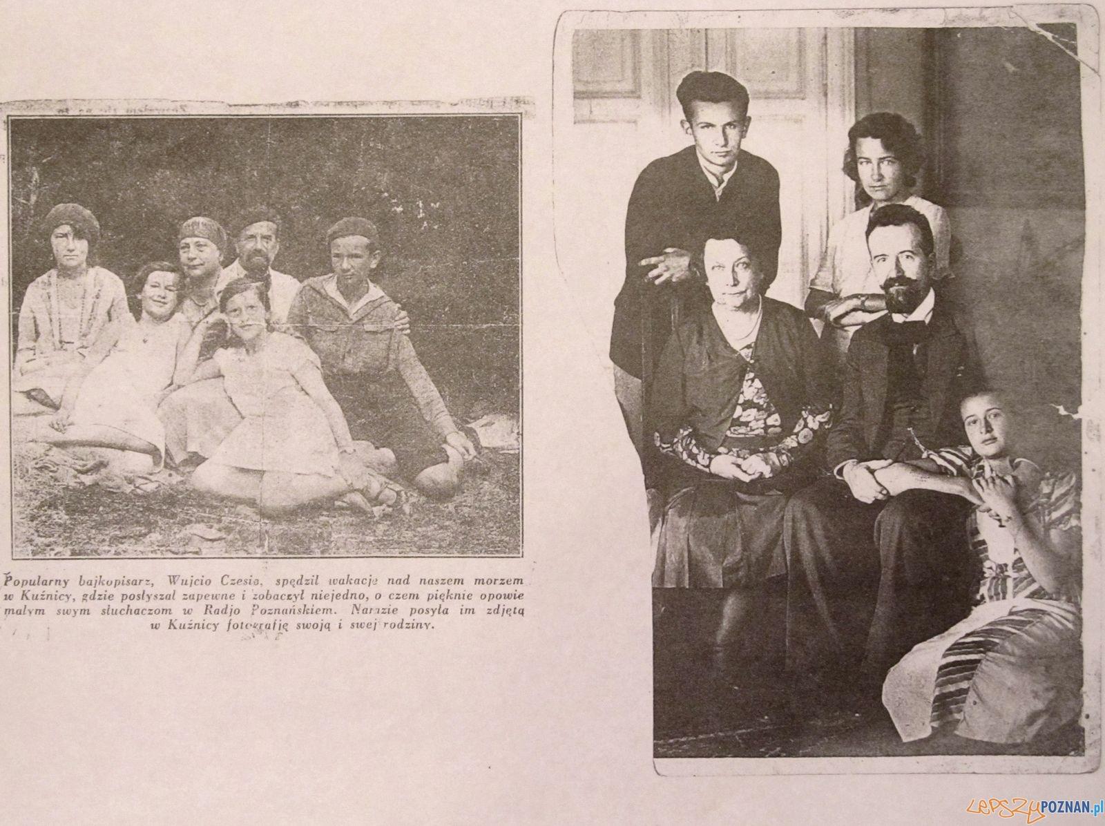 Czesław Kędzierski z rodziną