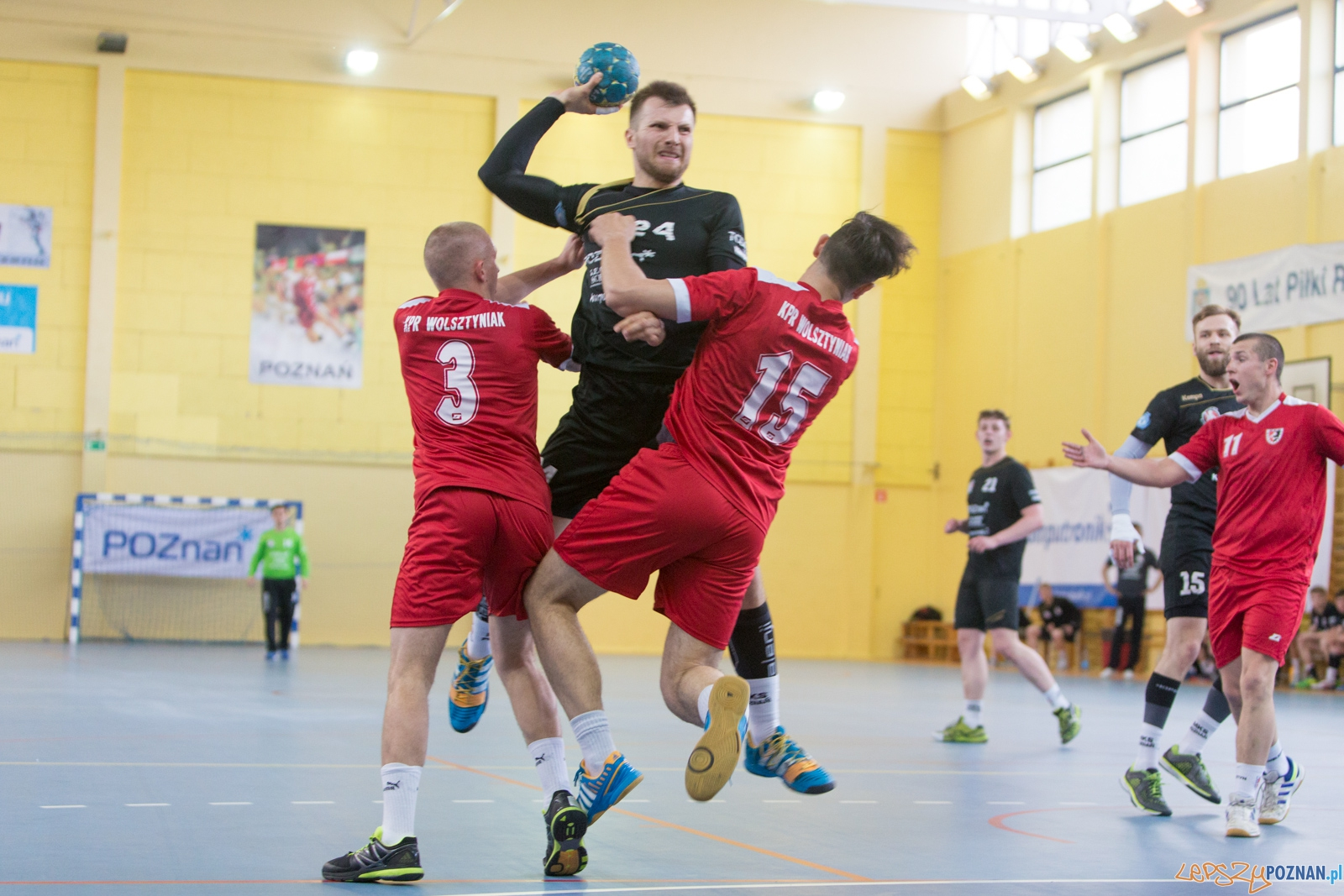 MKS Poznań - KPR Wolsztyniak Wolsztyn  Foto: lepszyPOZNAN.pl / Piotr Rychter
