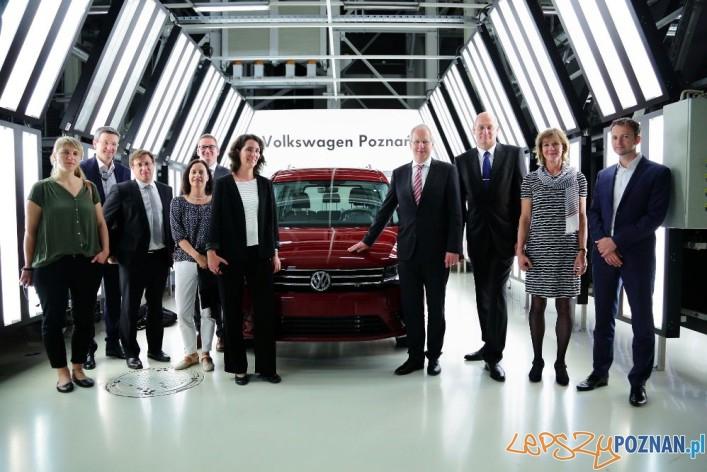 Burmistrz Hanoweru w zakładach Volkswagena w Antoninku (1)