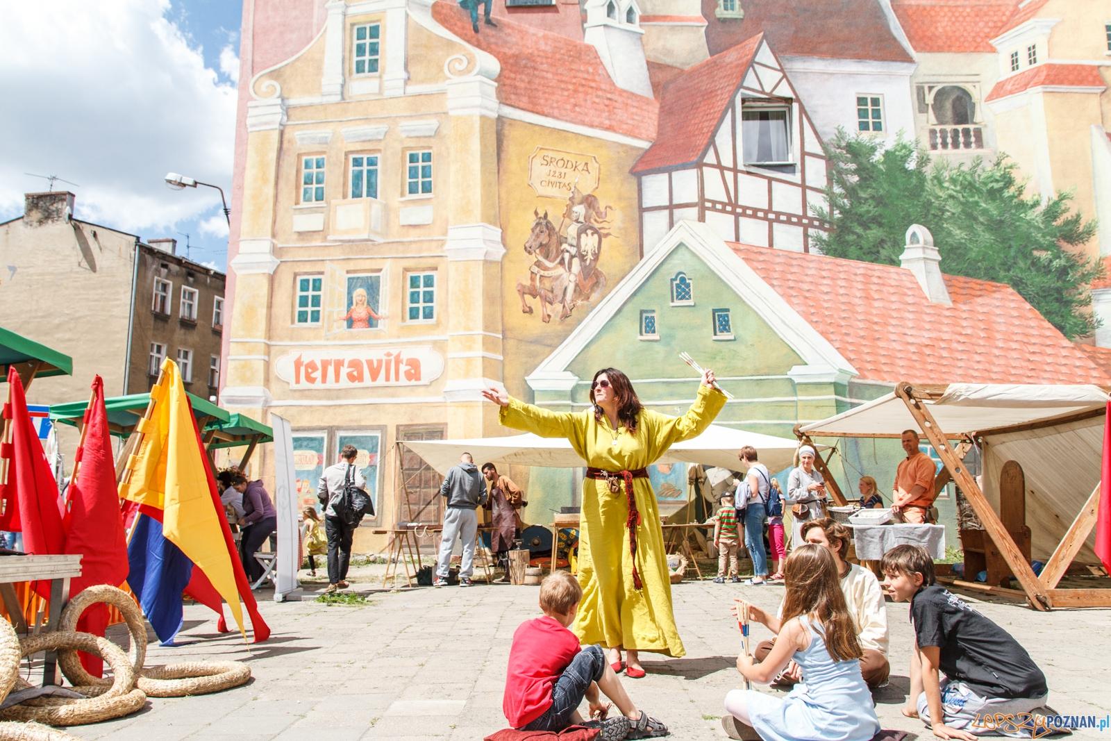VII Średniowieczny Targ Śródecki - Poznań 11.06.2016 r.  Foto: LepszyPOZNAN.pl / Pawel Rychter