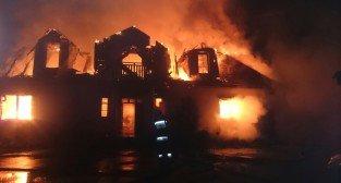 Pożar na Biskupińskiej